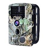 AUCEE Caméra de Chasse 16MP 1080P HD Caméra de Surveillance 120°PIR Capteur Imperméable IP56...