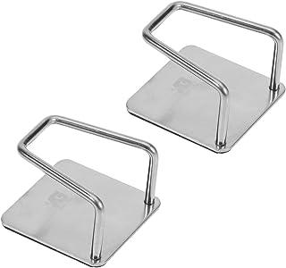 BESTONZON 2pcs éponge porte-éponge de vidange, évier panier cuisine pinceau savon vaisselle liquide égouttoir support de s...
