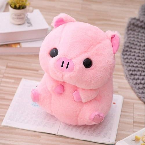 comprar descuentos Ycmjh Dibujos Animados Cabeza Cabeza Cabeza Grande bendición Cerdo muñeca Suave Felpa Animal Kawaii decoración 60cm  descuento de ventas en línea