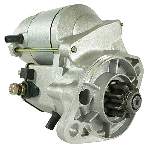 Starter For Bobcat 225 Kubota KH11 KH14 KH20 KH90 KX151 R410 R420 R520 L2250 L2550 L2850 L3250 L3600 L3710 L4310/15401-63010, 15401-63011, 15401-63012, 15461-63010, 15461-63011 - DB Electrical SND0121