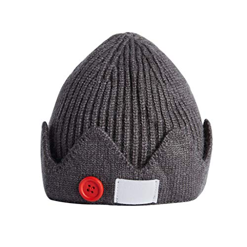 ASVP Shop Jughead Jones Beanie Hat - Riverdale Hat - Furzmütze - Kronenmütze - Dunkelgrau