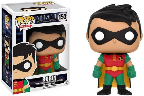 Funko Batman The Animated Series Robin Pop Heroes Figure