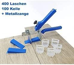 Metallzange Peygran Fliesen Nivelliersystem 3 mm 1000 Laschen 500 Keile