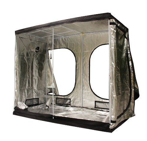 FoxHunter New Design Quality Portable Grow Tent Silver Mylar Green Room...