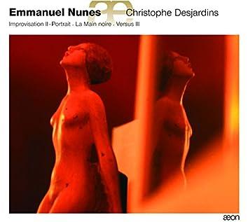 Nunes: Oeuvres pour alto : La Main noire - Improvisation II - Portrait - Versus III