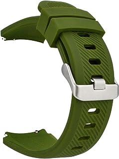 MroTech 22 mm Cinturino di Ricambio compatibile per Samsung Gear S3 Frontier/S3 Classic/Galaxy Watch 46mm/Huawei Watch 2 C...