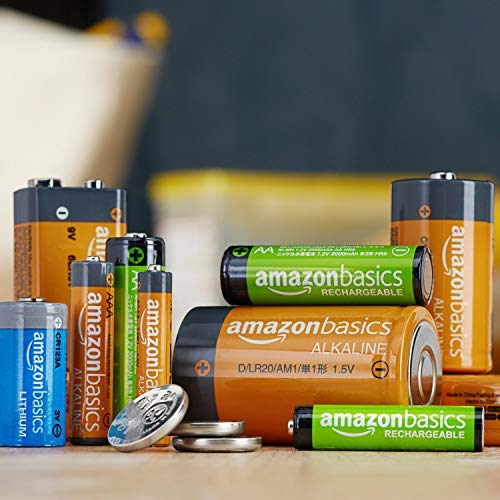 Amazon Basics 12-Pack Lithium CR2 3 Volt Batteries