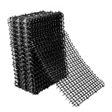 Hmyomina Cat Scat Mat with Spikes 12 Pack Deterrent Mat for Cats and Dogs for Indoor and Outdoor (16 X 8 Inches, Black)