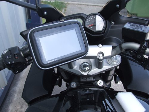 Navitech Cycle / Bike / Bicycle & Motorbike Waterproof holder mount and case Compatible With The GPS satnav models up to 5 inch