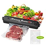 CkeyiN Vacuum Sealer Machine, Automatic Food Sealer for Keeping Dry & Moist Food