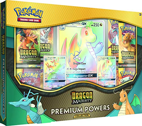 "Pokemon POK80411, Pokémon TCG: ""Dragon Majesty Premium Powers""-Kollektion."