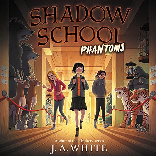 Phantoms Audiobook By J. A. White cover art