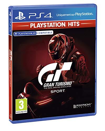 Gran Turismo Sport - PlayStation Hits, Version physique, En français, Mode multijoueur, 1 à 2 Joueurs