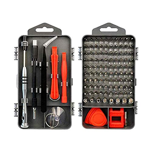 YDong Precision Screwdriver Set,115 in 1 Cell Phone and Electronics Repair Kit with Toolkit,for PC,Laptops,