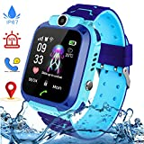 【Waterproof Smartwatch für Kinder】 :. Diese intelligente Uhr für Kinder ist IP67-zertifiziert und unterstützt das Schwimmen, Baden und Schwimmen (nicht für heißes Wasser, heiße Wasserbäder oder Saunen; keine Druckknöpfe unter Wasser). Geeignet für Pe...