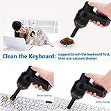 Fosa Portable Mini aspirapolvere USB ricaricabile Aspirapolvere da tavolo Strumento di rac...