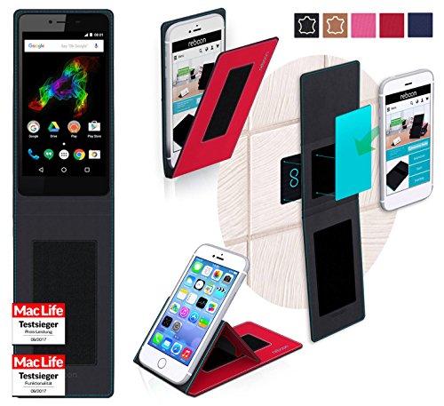 Hülle für Archos 50 Platinum Tasche Cover Case Bumper | Rot | Testsieger
