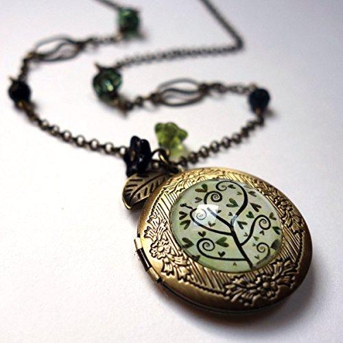 Collar secreto, el árbol espiral