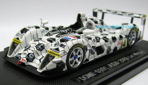 Ebbro 1/43 Dome S101 Judd Mans 2006 blanc / noir (Japon import / Le paquet et le manuel sont ?crites en japonais)