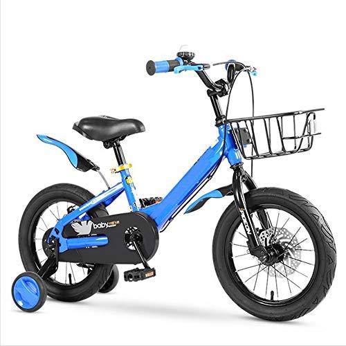 TX 4-8 Jaar Oude Kinderen Fiets voor Jongens & Meisjes Pedaal Kids Bike Dubbele Schijfrem 2 Hulpwiel