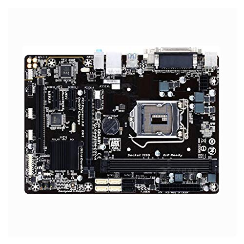 GUOQING Placa Base De La Computadora Fit For Gigabyte GA-B85M-D3V-A Placa Base B85M-D3V-A B85 Socket LGA 1150 DDR3 USB3.0 SATA3.0 Tarjeta Madre
