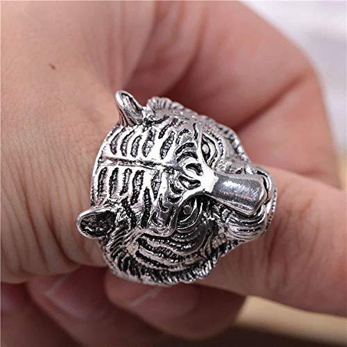 Leopard Head Ring, heren roestvrij staal felle mode trends beste cadeau voor uw vrienden en beroemd, 9