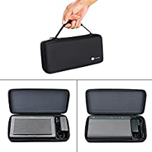 Meijunter Travel Carry Hard Case Cover Bag Pouch Protective Box for B&W Bowers&Wilkins T7 Portable Bluetooth Speaker/Creative Sound Blaster Roar1 Roar2 Bluetooth Speaker Extra Room for Dock & Cable