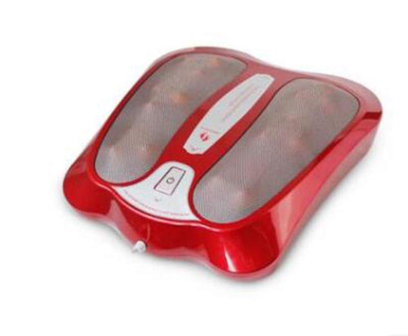 船外タイプライター不機嫌そうな遠赤外線フットマッサージャーフットマッサージ機は血液循環を改善し、痛みや痛みを和らげるのに役立ちます, Red