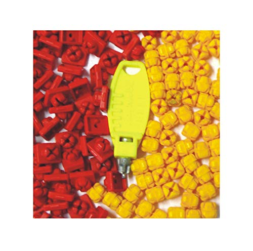 playmobil ® - X-System Burg - Verbinder - Noppen - 40 rot + 30 gelb + 1 Schlüssel >23,00 EUR