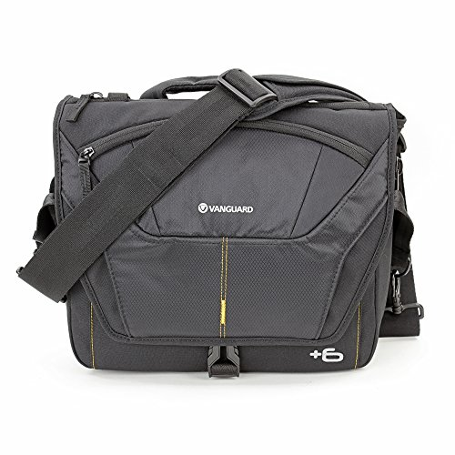 Vanguard Alta Rise 28 - Bolsa Messenger para cámaras, 28 x 11(+6) x 24 cm, Color Negro