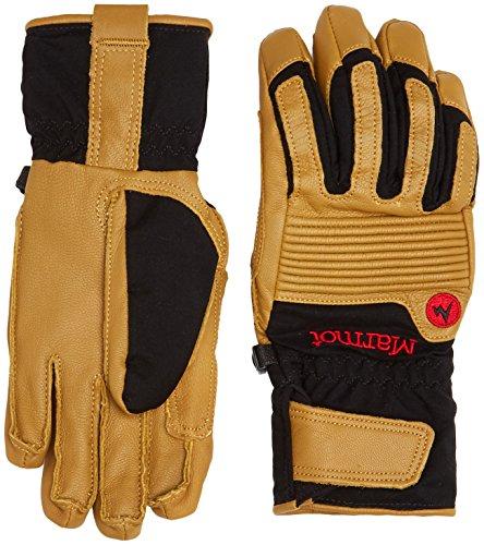 Marmot Herren Handschuhe Exum Guide Undercuff, Black/Tan, 2(XS)