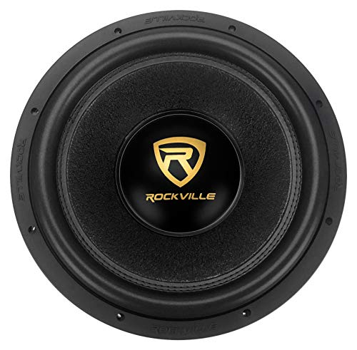"Rockville W15K9D2 15"" 5000w Peak Car Audio Subwoofer Dual 2-Ohm Sub 1250w RMS CEA Rated"
