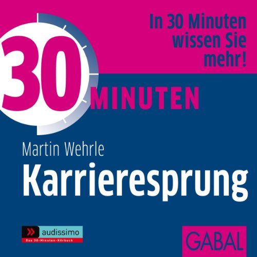 30 Minuten Karrieresprung audiobook cover art