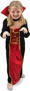Boo! Inc Vexing Vampire Girl's Halloween Costume   Children's Dress Up (YS) Red