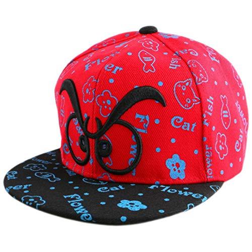 Knncch Kind-Hip-Hop-Hysteresenhüte Der Neuen Kappen Modische Auslegung Einfache Briefschönheitsbabybaseballmütze-Jungenmädchen Nettes Casquette
