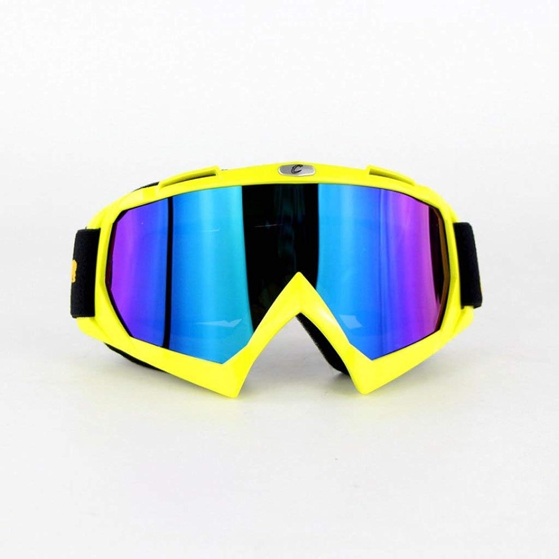 CFHJN Home Brille Brille, Ritterausrüstung, Outdoor Brille, Off-Road-Brille, Skibrille, wasserdicht und staubdicht, PC-Explosionsschutzbrille B07MPSGNT6  Sehr gute Klassifizierung