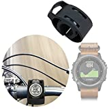 DURAGADGET Soporte para Smartwatch Garmin Fénix 3 / HR/Leather/Nylon/Titanium para Manillar De Bicicletas