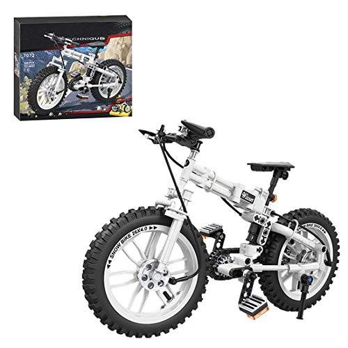 NFtop Technik Fahrrad Bausteine Modell, Fahrrad Bauset Kompatible mit Lego Technic - 242 Teile