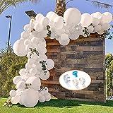 specool Luftballons Weiß Party Dekoration, 106 Stück
