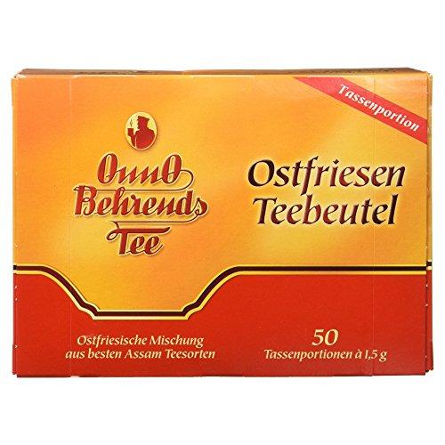 OnnO Behrends Tee Ostfriesen-Teebeutel 50 TB, 1er Pack (1 x 75 g Packung)