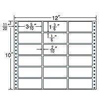 東洋印刷 タックフォームラベル 12インチ ×10インチ 18面付(1ケース500折) M12W