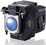 Lámpara de proyector de repuesto para Epson ELPLP97/V13H010L97 Home Cinema EPSON EB-FH52 EB-U50 EB-W50 EB-X50 EH-TW710 EH-TW740 EH-TW750 EPSON PowerLite U50 con carcasa
