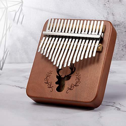 17 Key kalimba marimba, hoogwaardige professionele vinger duim piano muziekinstrument Gift