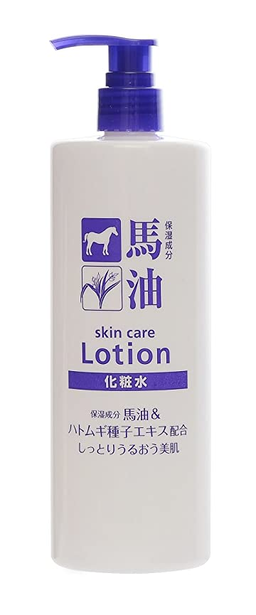パトワ香ばしいレンダーTKコーポレーション 馬油&ハトムギ種子エキス配合化粧水 500ml
