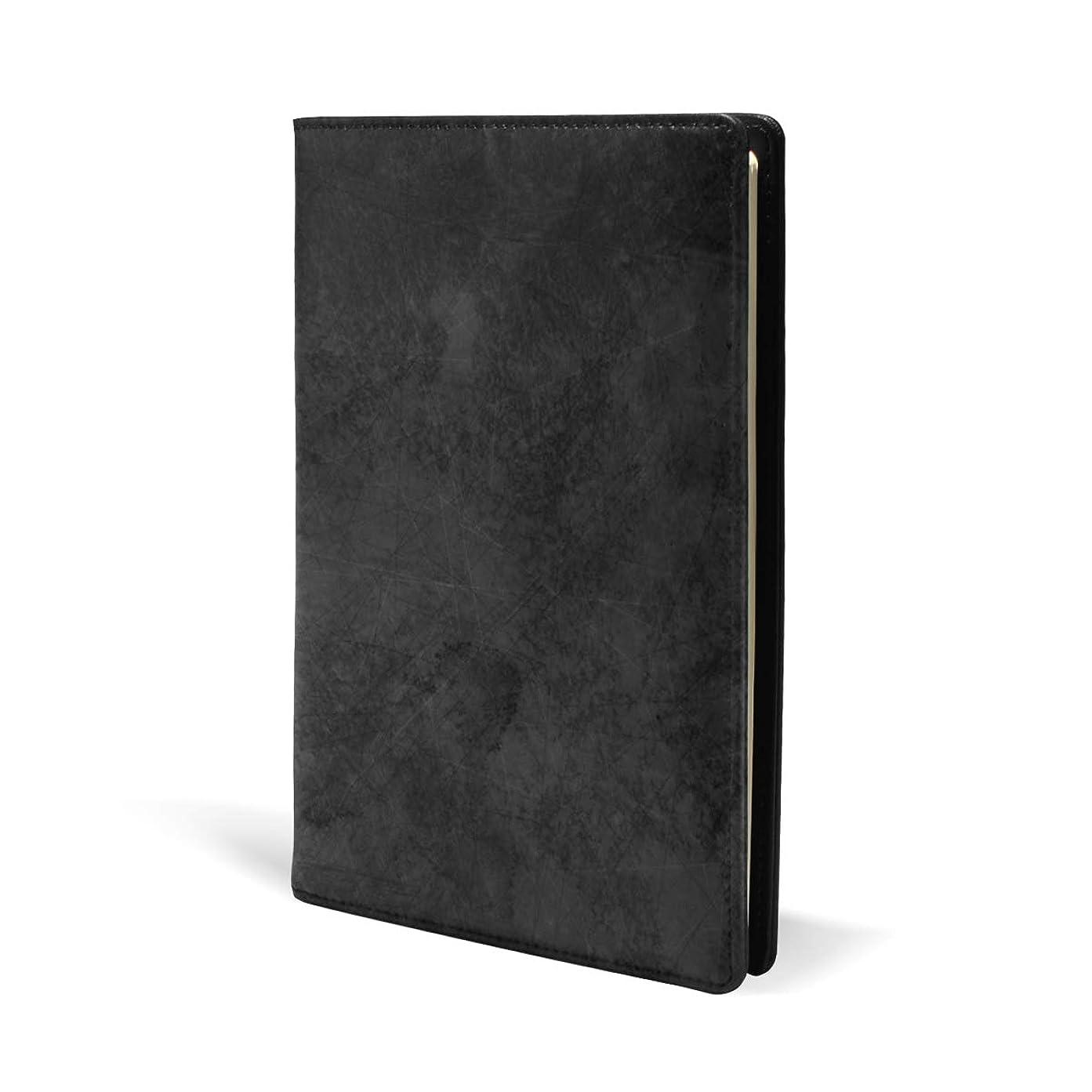 付属品できれば同情ブックカバー a5 黒い きれい かわいい 文庫 PUレザー ファイル オフィス用品 読書 文庫判 資料 日記 収納入れ 高級感 耐久性 雑貨 プレゼント 機能性 耐久性 軽量
