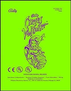 Cirqus Voltaire Pinball Service & Repair Manual