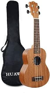 Soprano Ukulele Mahogany 21 inch Starter Kit for Beginner Ukelele Uke Hawaiian Ukulele Small Guitar for Kids Adults Beginners Students Children