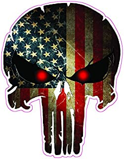 Best large punisher decal Reviews