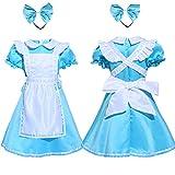 LittleCat Halloween Costumes Girls Costumes Halloween Princess Dress Costumes Alice In Wonderland Maid Costume