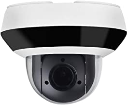 4MP PTZ POE IP Camera OEM DS-2DE2A404IW-DE3, Pan/Tilt/2.8mm~12mm 4X Optical Zoom, 4-Megapixel (2560x1440),Night Vision 20m,SD Card Recording,Outdoor/Home Audio Input Output,IP66 and IK10, H.265+